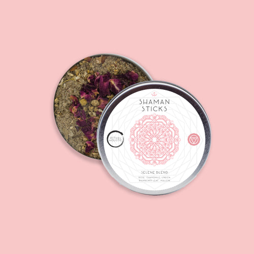 Selene Blend Tin {Loose Leaf} | Organic Herbal Smoke