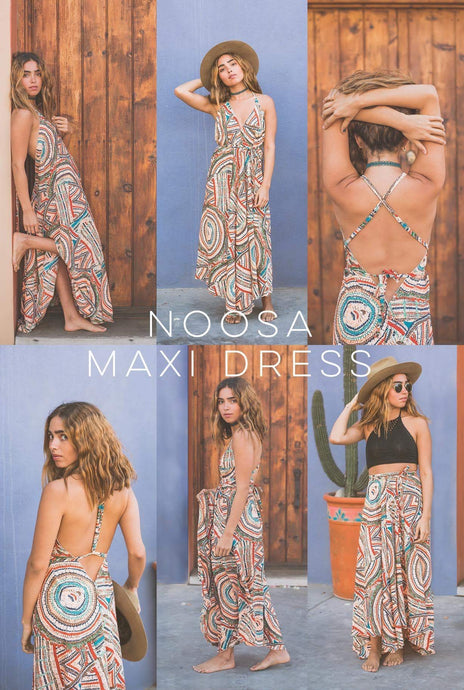NOOSA MAXI DRESS: HOW TO WEAR