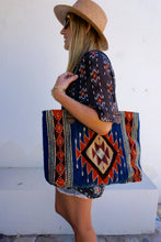 Load image into Gallery viewer, MZ Tribal Diamond Tote
