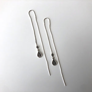 Simba Silver Threader Earrings