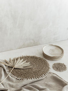Shell Laguna Placemat - Natural
