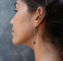 Load image into Gallery viewer, Simba Silver Threader Earrings