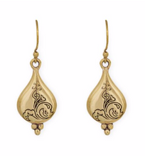 Load image into Gallery viewer, CT Trust Earrings Silver w/ Brass