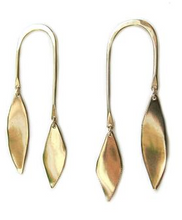 Load image into Gallery viewer, Bronze Swing Earrings