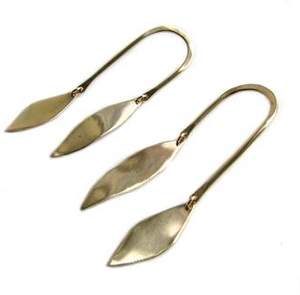 Bronze Swing Earrings