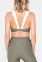 Load image into Gallery viewer, Embrace Bra - Olive Rib