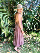 Load image into Gallery viewer, Noosa Maxi Dress in Ruby Dots