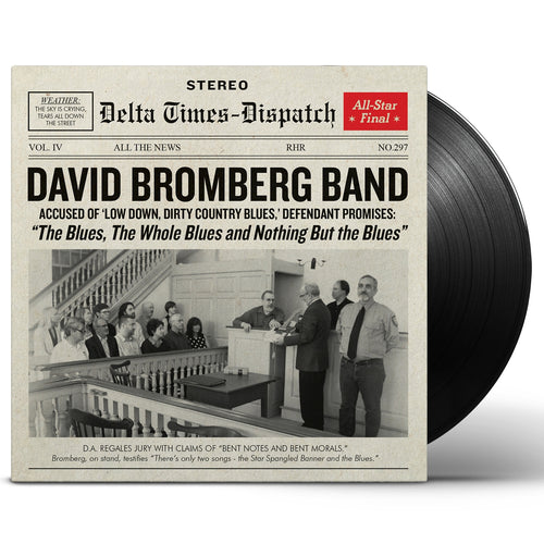 David Bromberg Band / The Blues, The Whole Blues and Nothing But the Blues - LP Vinyl