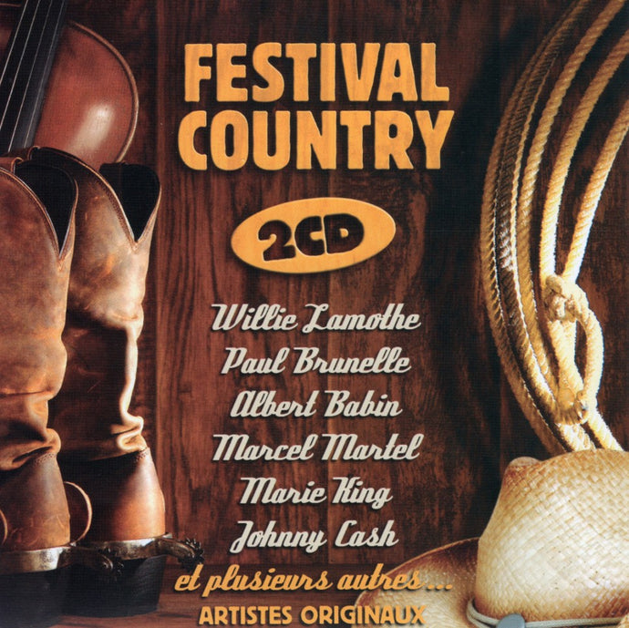 Artistes Varies / Festival Country - CD