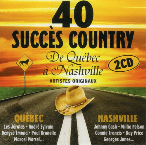 Artistes Varies / 40 Succes Country - CD