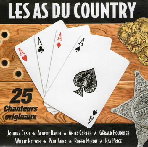 Artistes Varies / Les As Du Country - CD