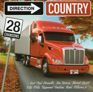 Artistes Varies / Direction Country - CD