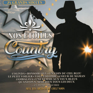Artistes Varies / Nos Étoiles Country - CD