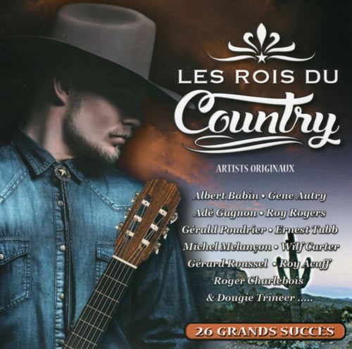 Artistes Varies / Les Rois Du Country - CD
