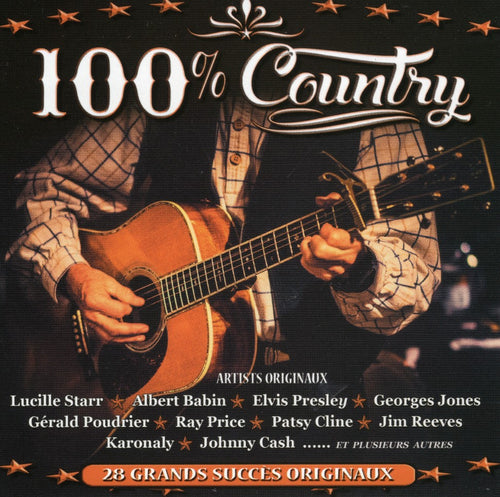 Artistes Varies / 100% Country - CD