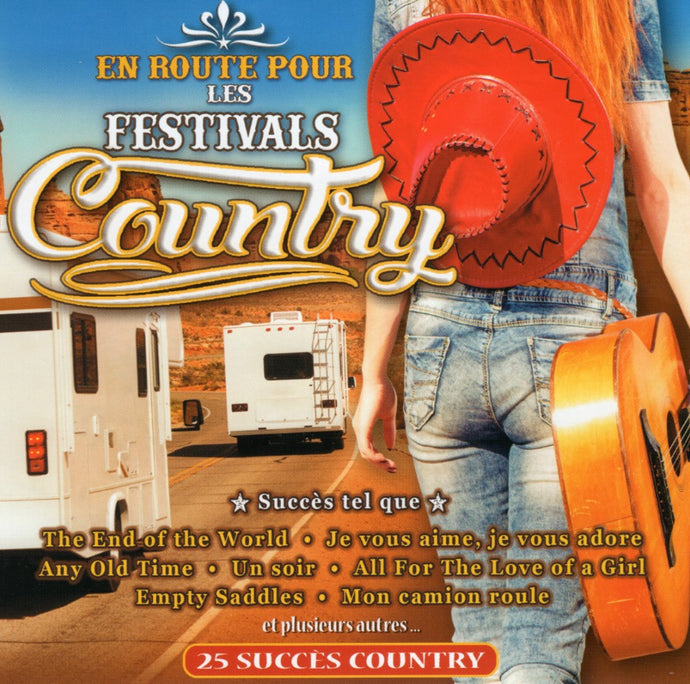 Artistes Varies / En Route Pour Les Festivals Country - CD