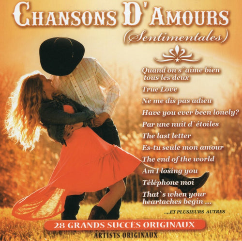 Artistes Varies / Chansons D'Amour Sentimentales - CD