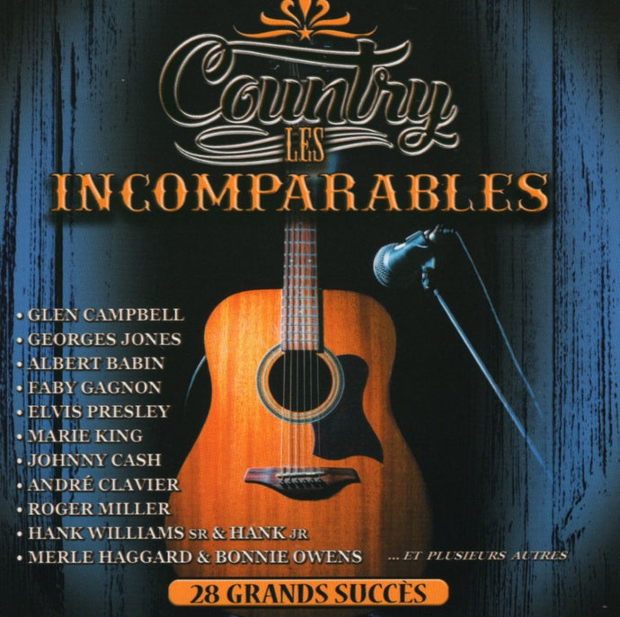 Artistes Varies / Country Incomparables - CD