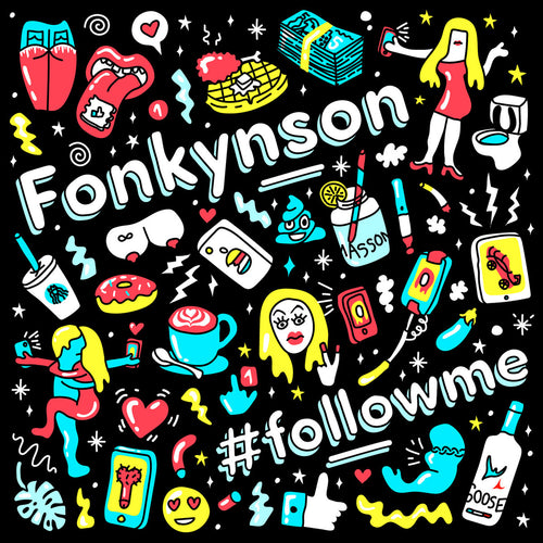 Fonkynson / #Followme - LP Vinyl