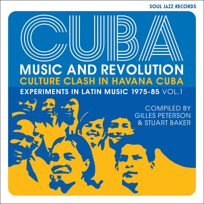 Soul Jazz Records Presents / Cuba: Music and Revolution: Culture Clash in Havana: Experiments in Latin Music 1975-85 Vol. 1 - 2CD