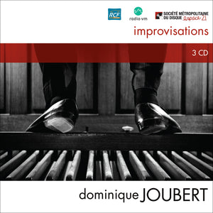 Dominique Joubert / Improvisations (3Cd) - CD