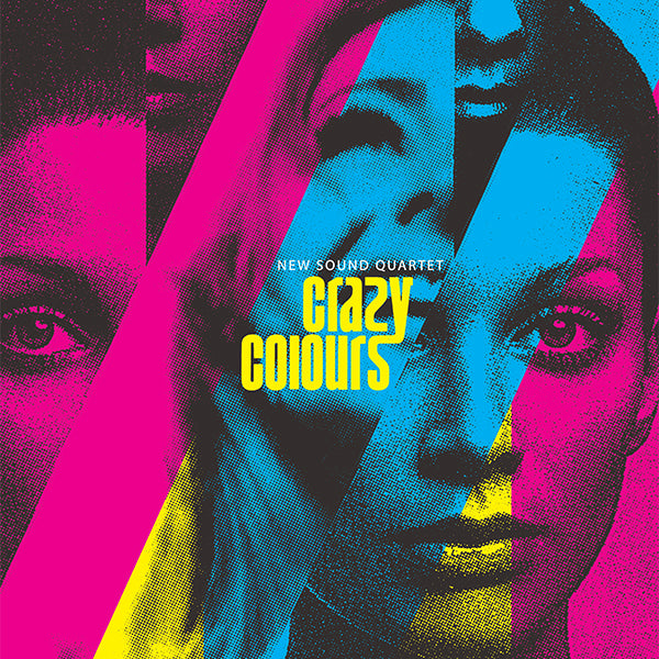 New Sound Quartet / Crazy Colours - LP Vinyl