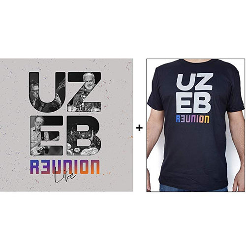 UZEB - R3UNION Live (Bundle Vinyl + T-Shirt)