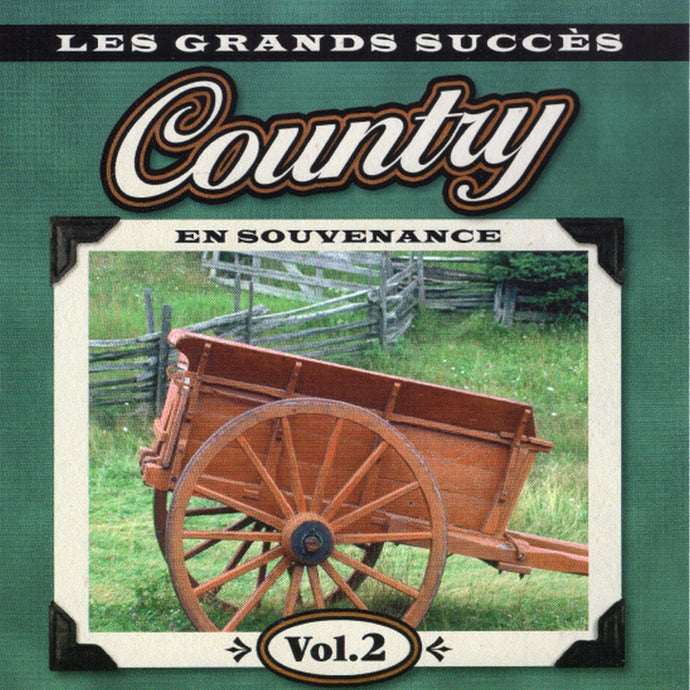 Artistes Variés / Souvenirs Country En Souvenance V2 - CD