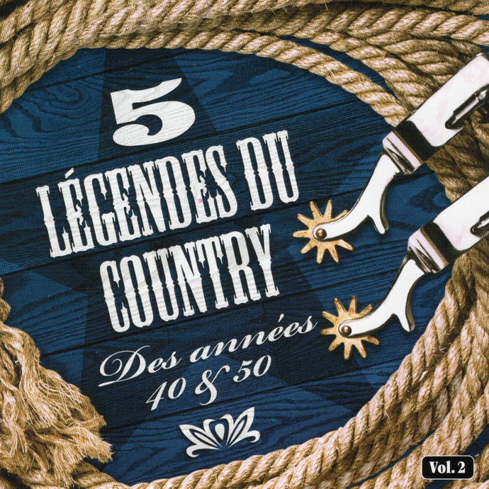 Artistes Varies / 5 Legendes Du Country V2 - CD