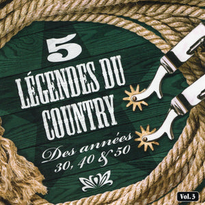 Artistes Varies / 5 Legendes Du Country V3 - CD