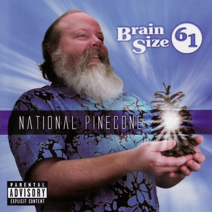 Brain Size 61 / National Pinecone - CD