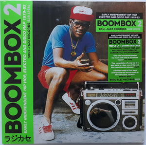 Soul Jazz Records Presents ‎/ Boombox 2 (Early Independent Hip Hop, Electro And Disco Rap 1979-83) - 3LP