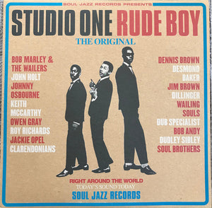 Soul Jazz Records Presents ‎/ Studio One Rude Boy - 2LP Vinyl