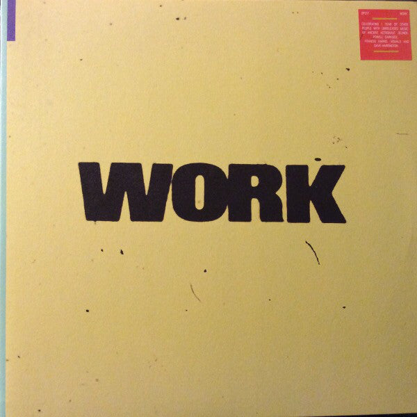 Various / Work - 2LP
