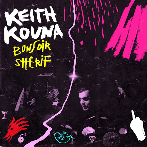 Keith Kouna / Bonsoir shérif - CD