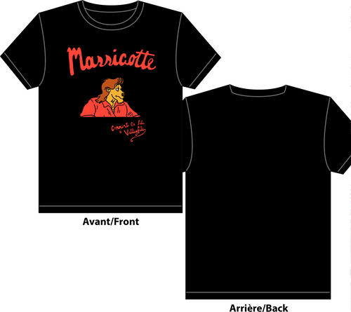 Massicotte / Comment ça file à Valleyfile (T-shirt hommes)