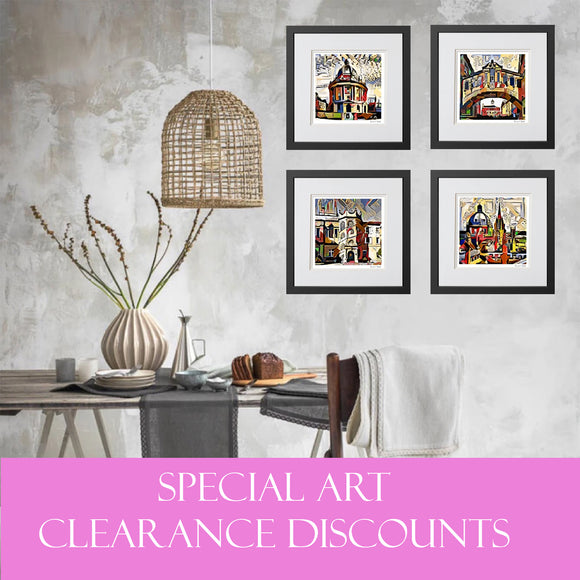 Oxford Art prints Clearance sale