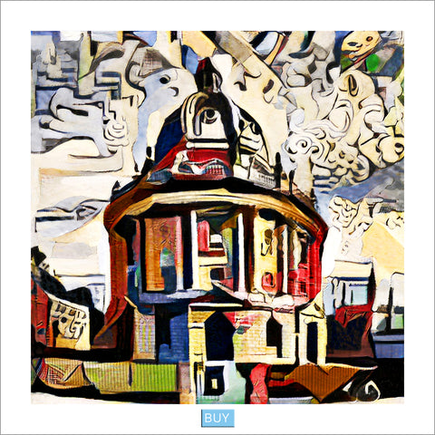 Oxford Modern Art prints of Radcliffe Camera Oxford gifts