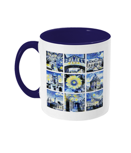 Oxford University Alumni Mug with navy handle