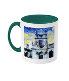 Trinity College Oxford Alumni Mug with green handle