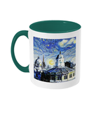 Sheldonian Oxford Alumni Mug with green handle