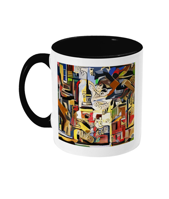 Lincoln College Oxford mug black