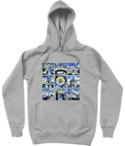 University of Oxford grey organic cotton hoodies with art designs