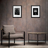 B&W art prints of Oxford interior design