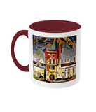 Mansfield college oxford mug burgundy