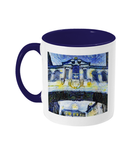 Bridge of Sighs Oxford Alumni mug with navy blue handle