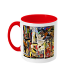 Lincoln College Oxford mug red