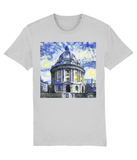Radcliffe Camera Oxford University unisex grey organic cotton t-shirt with art design