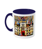 Wadham College Oxford mug blue