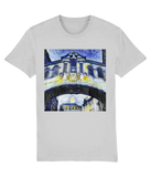Hertford College Bridge of Sighs Oxford unisex grey organic cotton t-shirt with art design